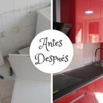 Reforma Integral de cocina en barrio de Las Delicias
