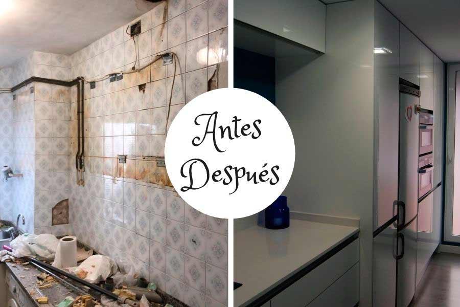 Reforma de cocina alto standing en Zaragoza
