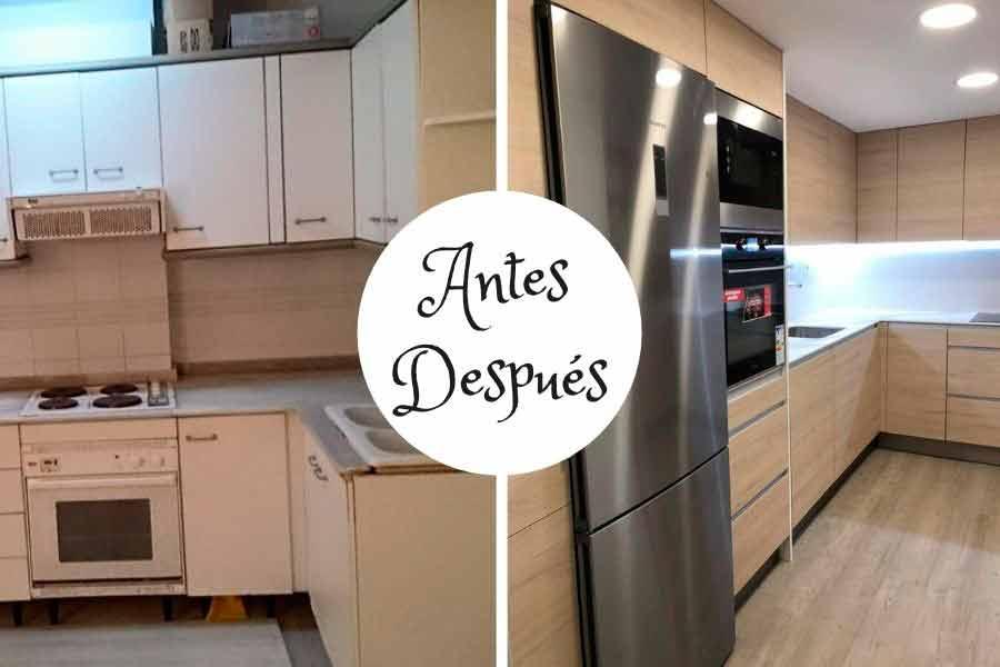 Mobiliario de cocina en Zaragoza